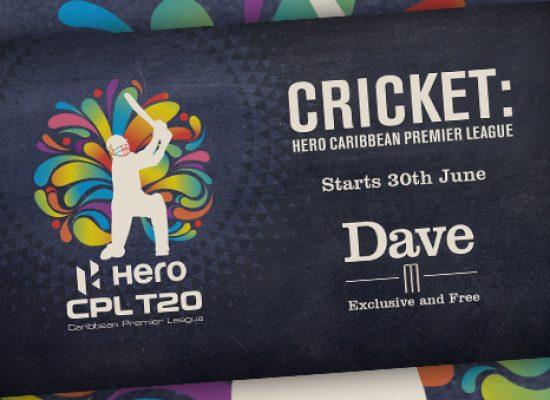Live cricket heads to UKTV's Dave