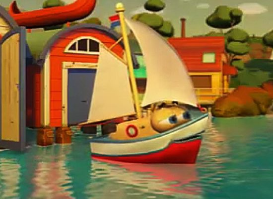 Sydney The Sailboat docks on Tiny Pop
