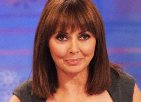 Carol Vorderman admits she felt the burn when she had a naked gym session
