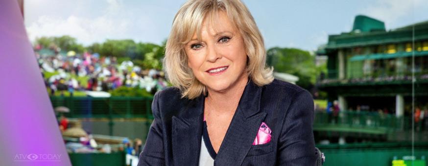 Sue Barker Wimbledon presenter