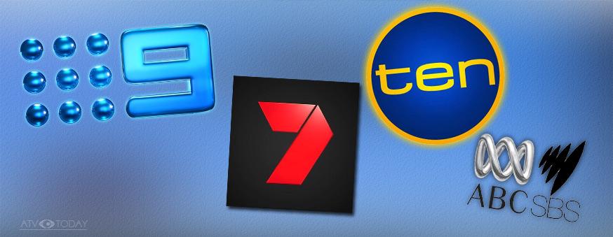 Australian Television logos