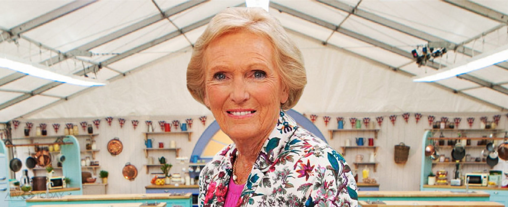 No Berry on Channel 4's Bake Off
