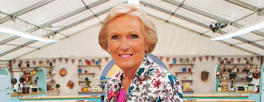 Mary Berry. Great British Bake Off 2012