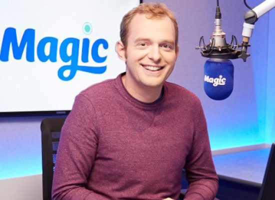 Actor and comedian Tom Price joins Magic Radio
