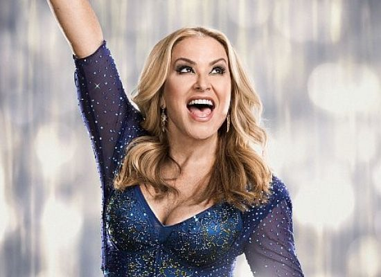 Anastacia departs Strictly Come Dancing
