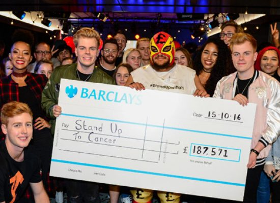 Over  £187,000 raised by 'YouTube stars' for Stand up to Cancer