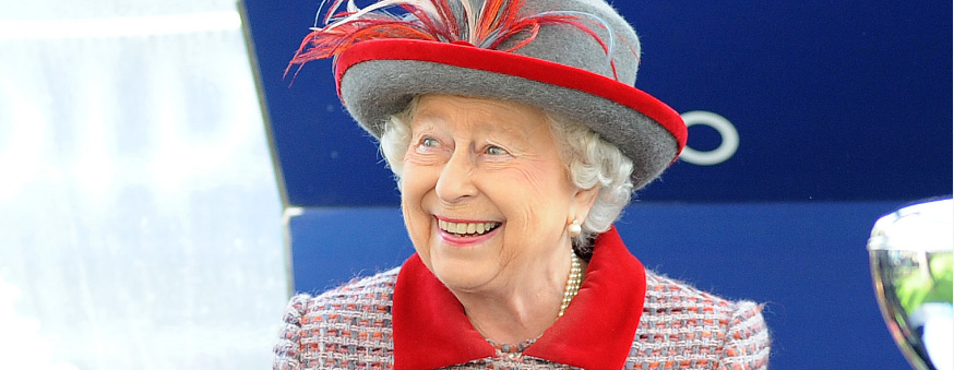 The Queen at QIPCO British Champions Day 2016 ASCOT
