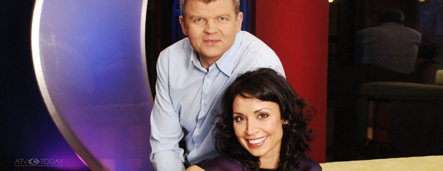 Adrian Chiles and Christine Bleakley - The One Show