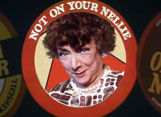 Hylda Baker's Not on Your Nellie 'compete series' for DVD
