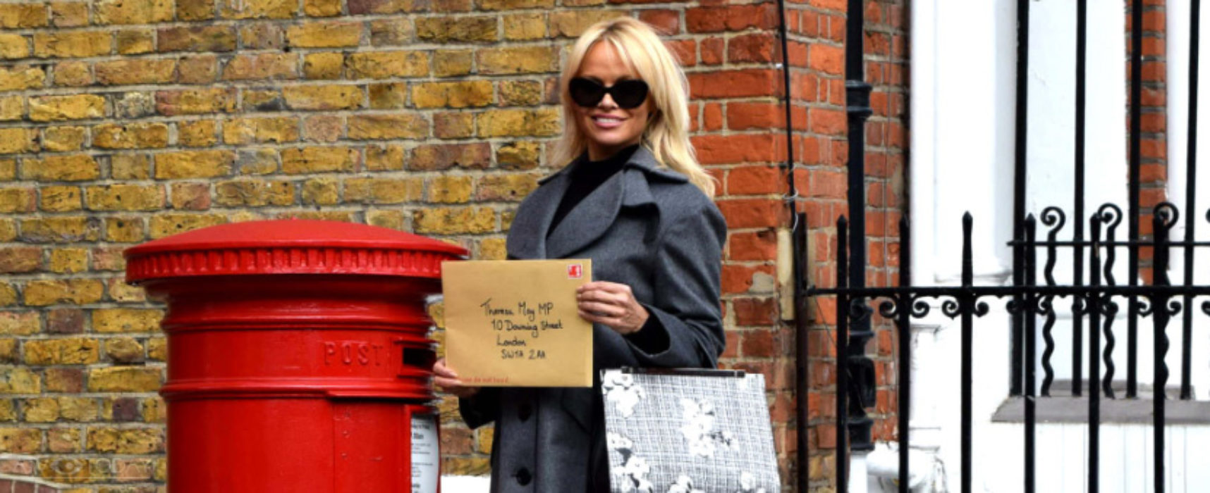 2016 PETA Person of the Year gong goes to Pamela Anderson