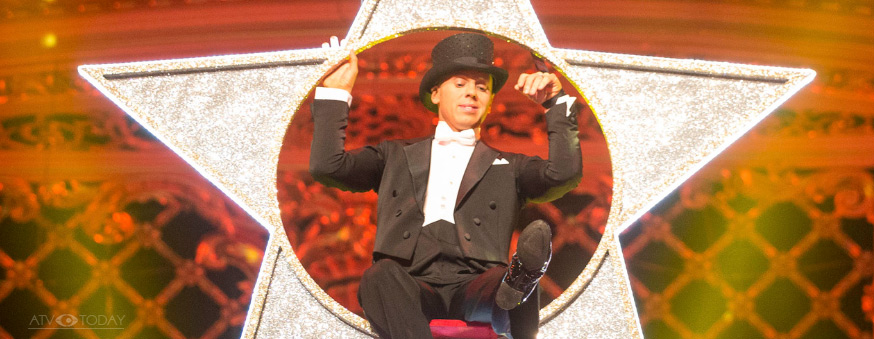 Judge Rinder on Strictly Come Dancing at Blackpool