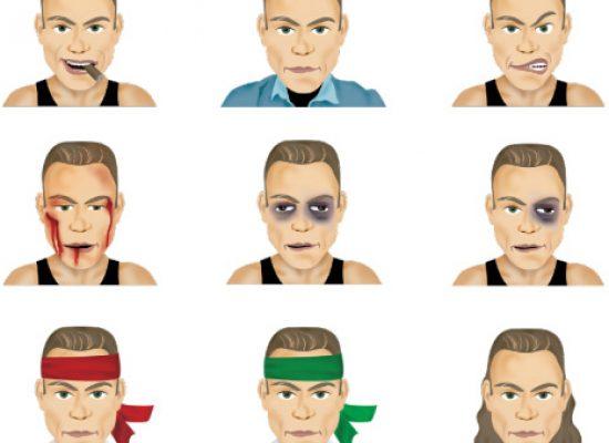Jean-Claude Van Damme launches Emoji and sticker app