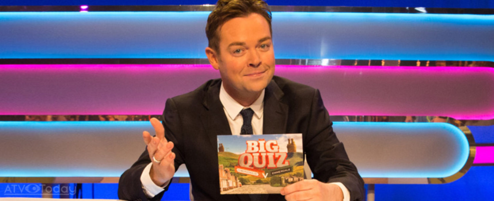 Stephen Mulhern turns pence into pounds for ITV