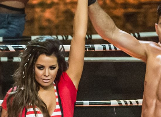 Jess Wright on Dance Dance Dance with ITV