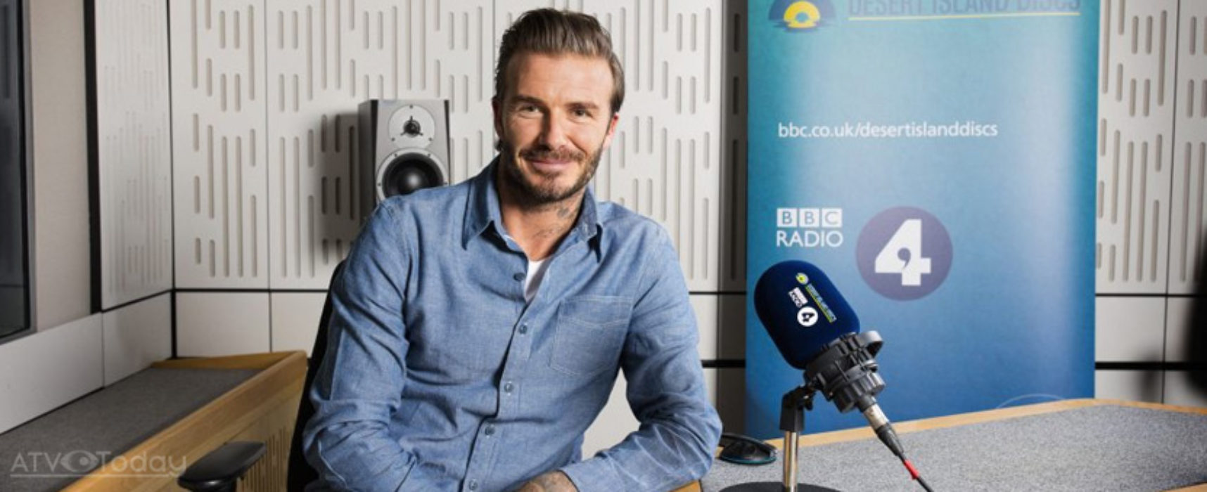 75th anniversary edition of Desert Island Discs to feature David Beckham