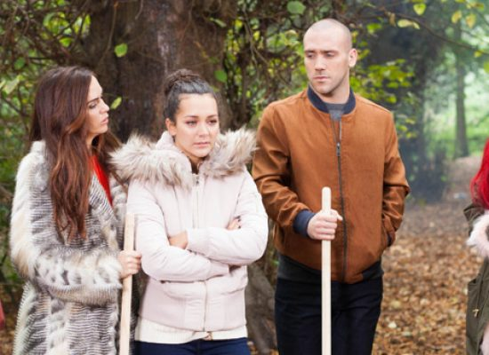 The McQueen and Donovan families pull together in Hollyoaks