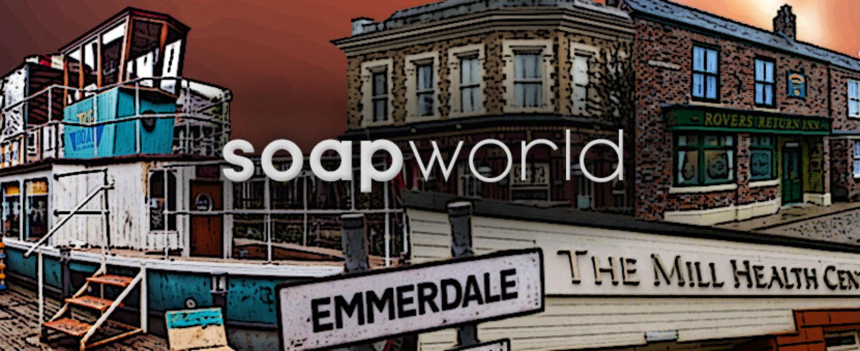 Soapworld Newswrap: Emmerdale Coronation Street Brookside and EastEnders