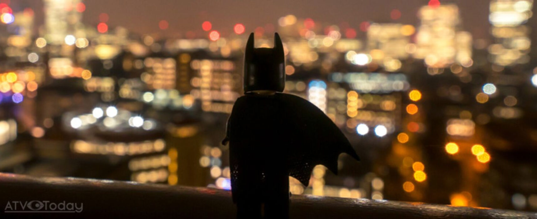 'Lego Batman' takes a day out in London