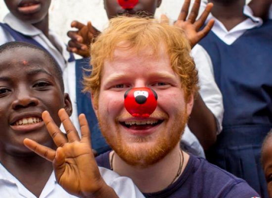 Stars line up to take part in 2017's Red Nose Day