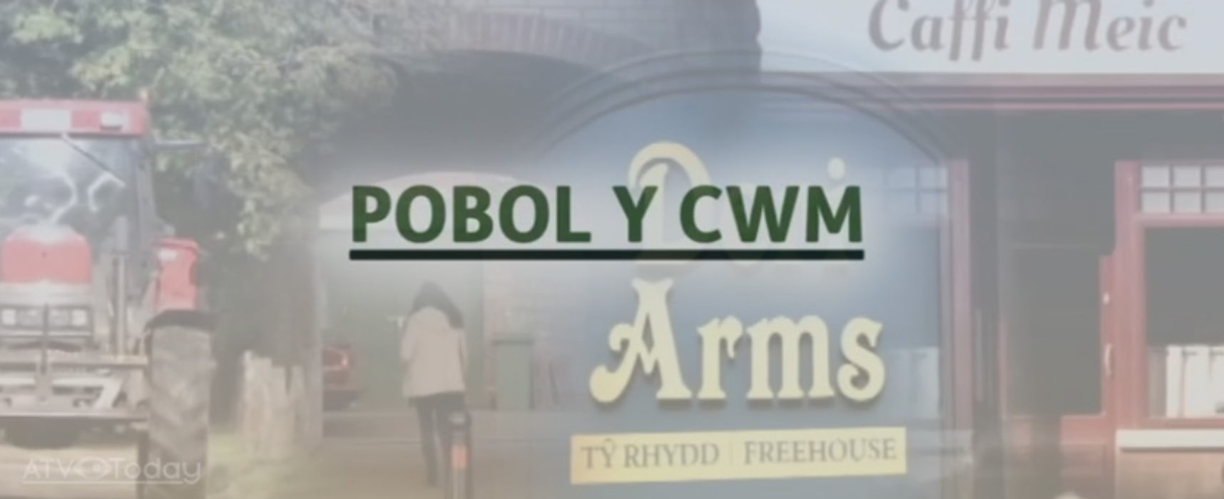 Pobol y Cwm launches set tours for National Eisteddfod