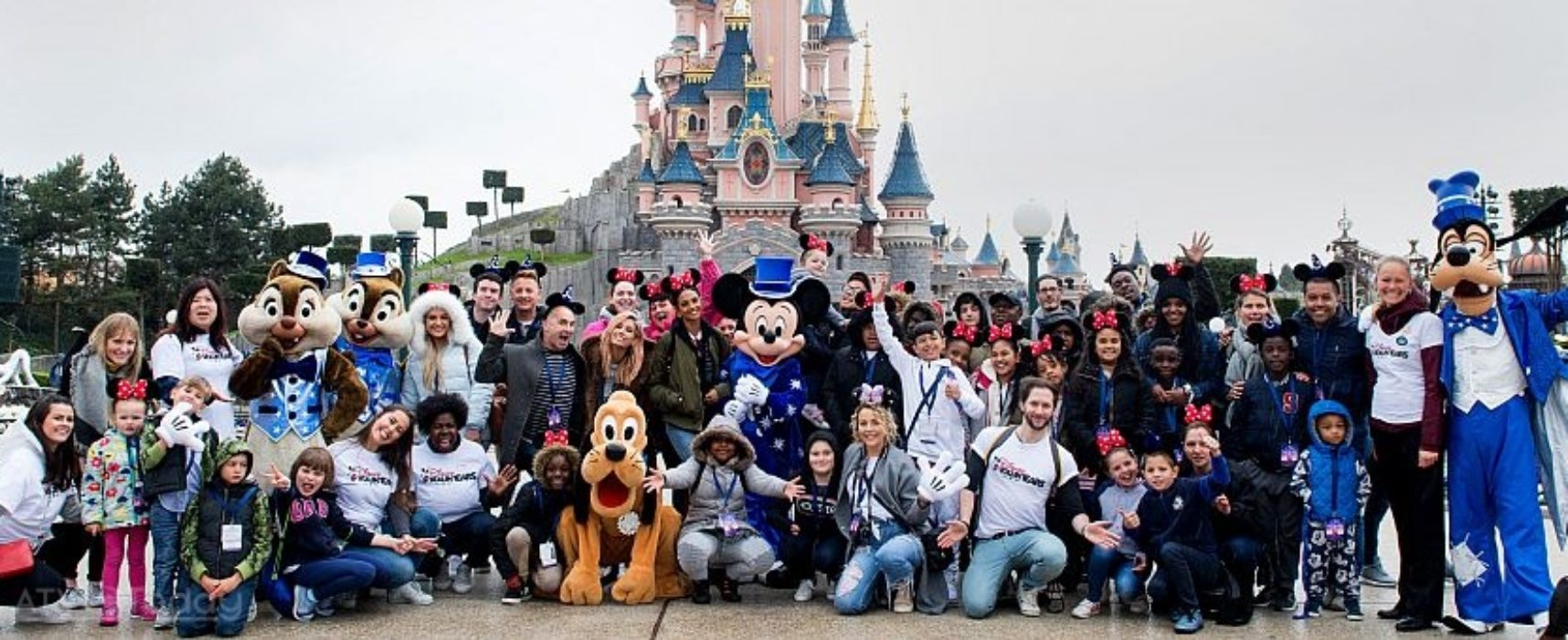 Disneyland Paris welcomes youngsters and their famous friends