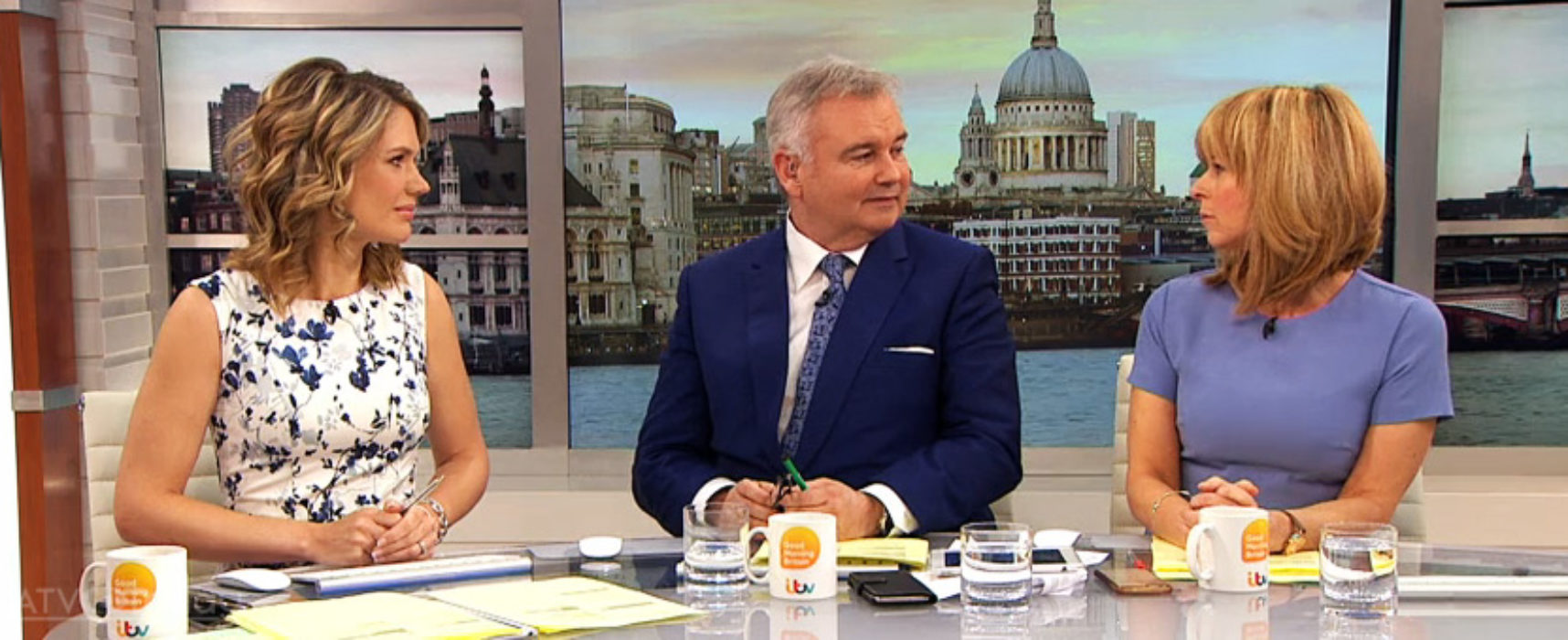 Madeley, Holmes and Kyle to host Good Morning Britain