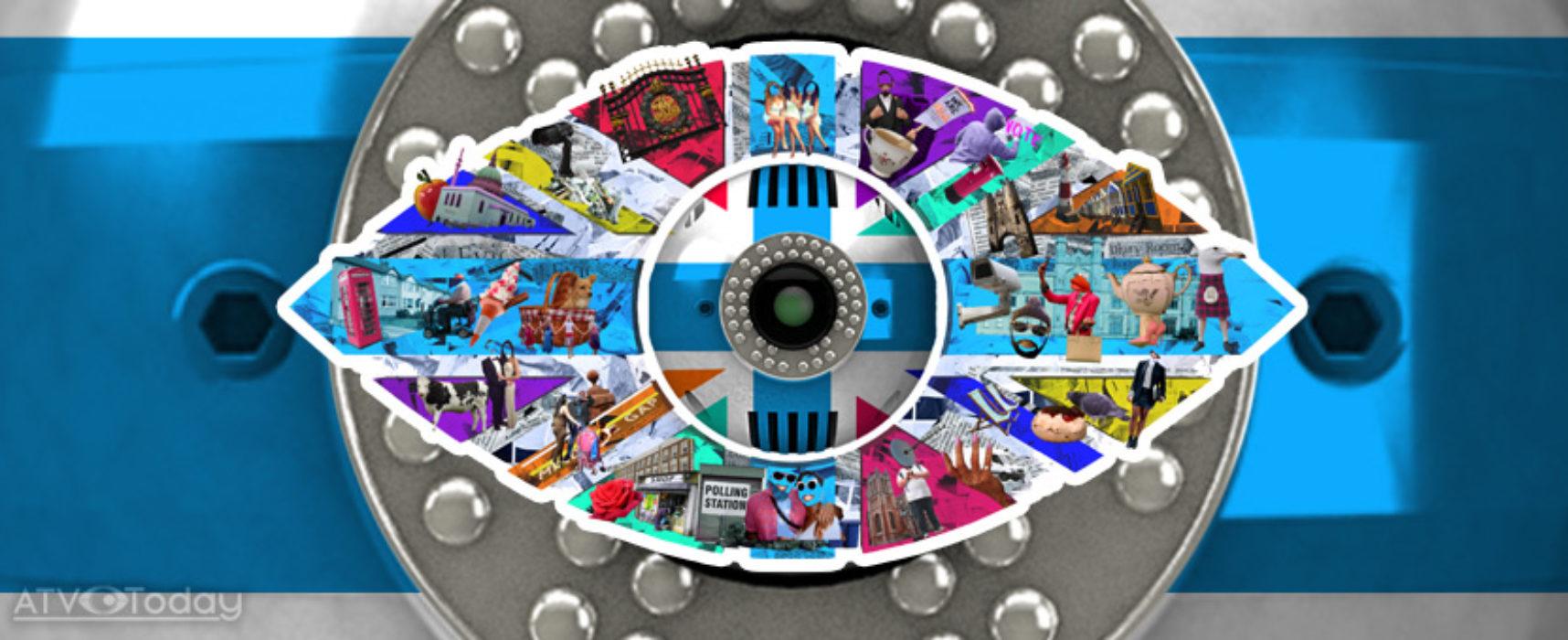 Channel 5 reveal a 'United Kingdom' inspired eye logo for summer 2017