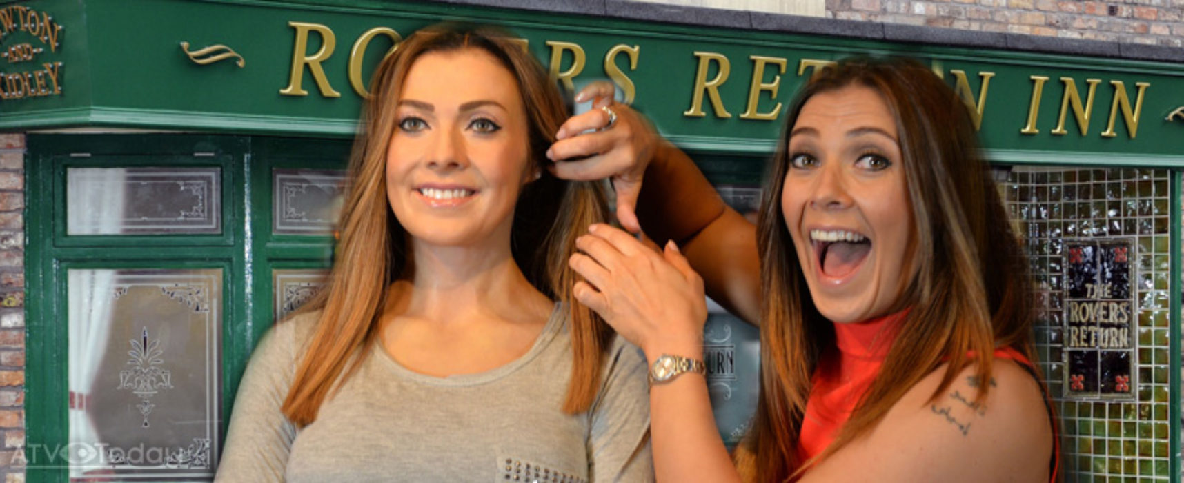 Kym Marsh gets Madame Tussauds wax figure of her Corrie character Michelle Connor