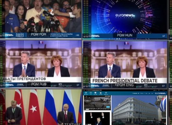 Euronews and China Global Television Network in content deal