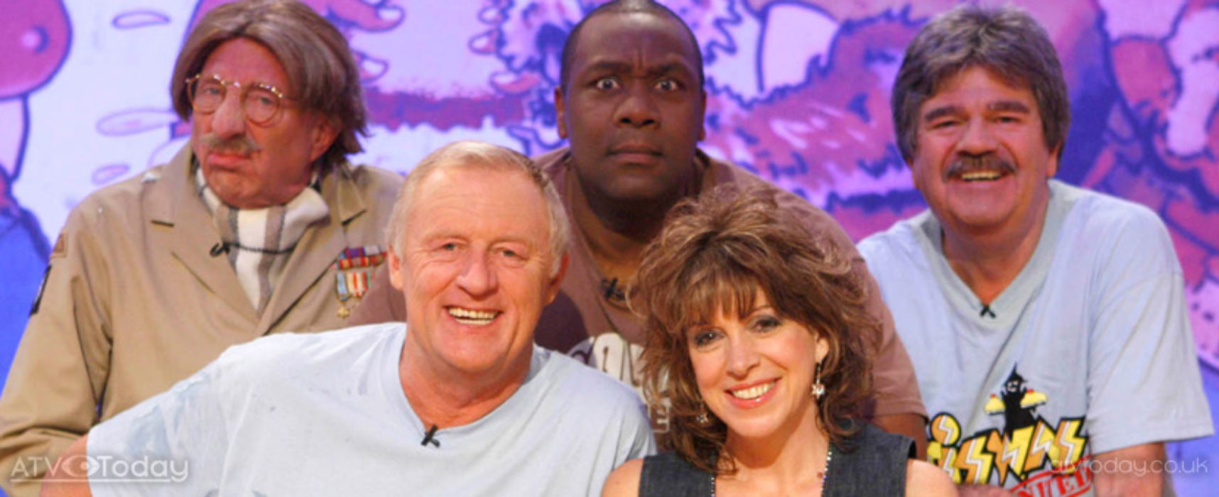 Blue Peter, Tiswas and Playschool named some of the top children's programmes of all time