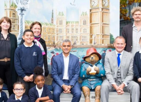 Paddington Bear to 'pop-up' around London