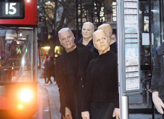 Red Dwarf fans get out and about as Kryten ahead of shows return