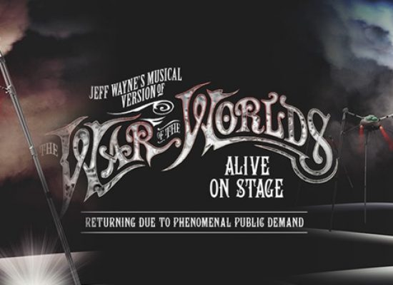 Jeff Wayne's version of The War Of The Worlds begins 40th anniversary celebrations