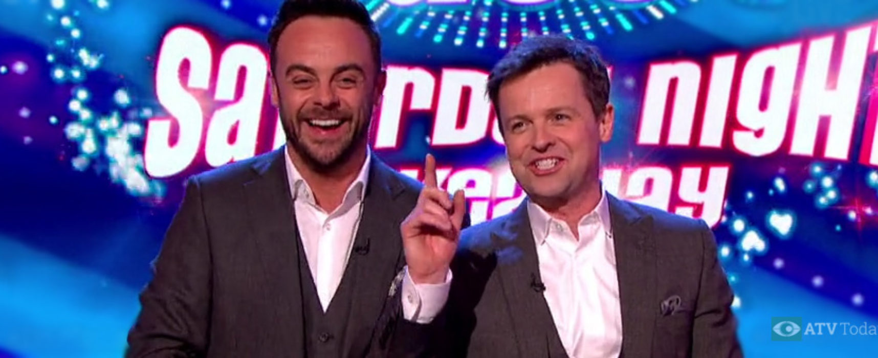 Television Centre becomes home to Saturday Night Takeaway