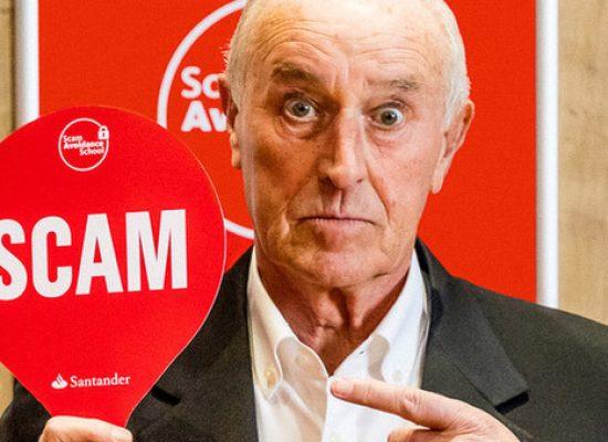 Len Goodman teams up with bank for 'scam avoidance' promo