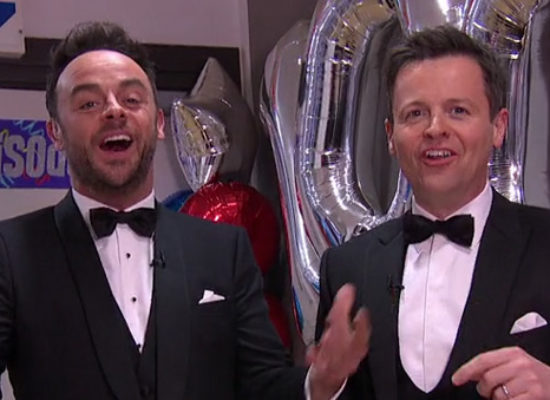 Ant and Dec go on a DNA journey with ITV