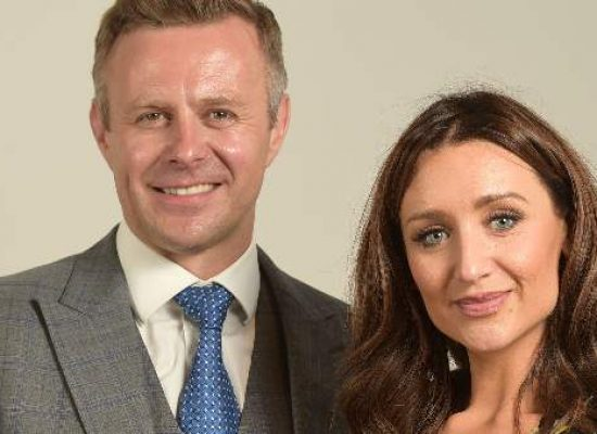 Catherine Tyldesley and Tom Lister recognised by Royal Birmingham Conservatoire