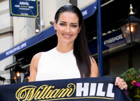William Hill team up with Kirsty Gallacher