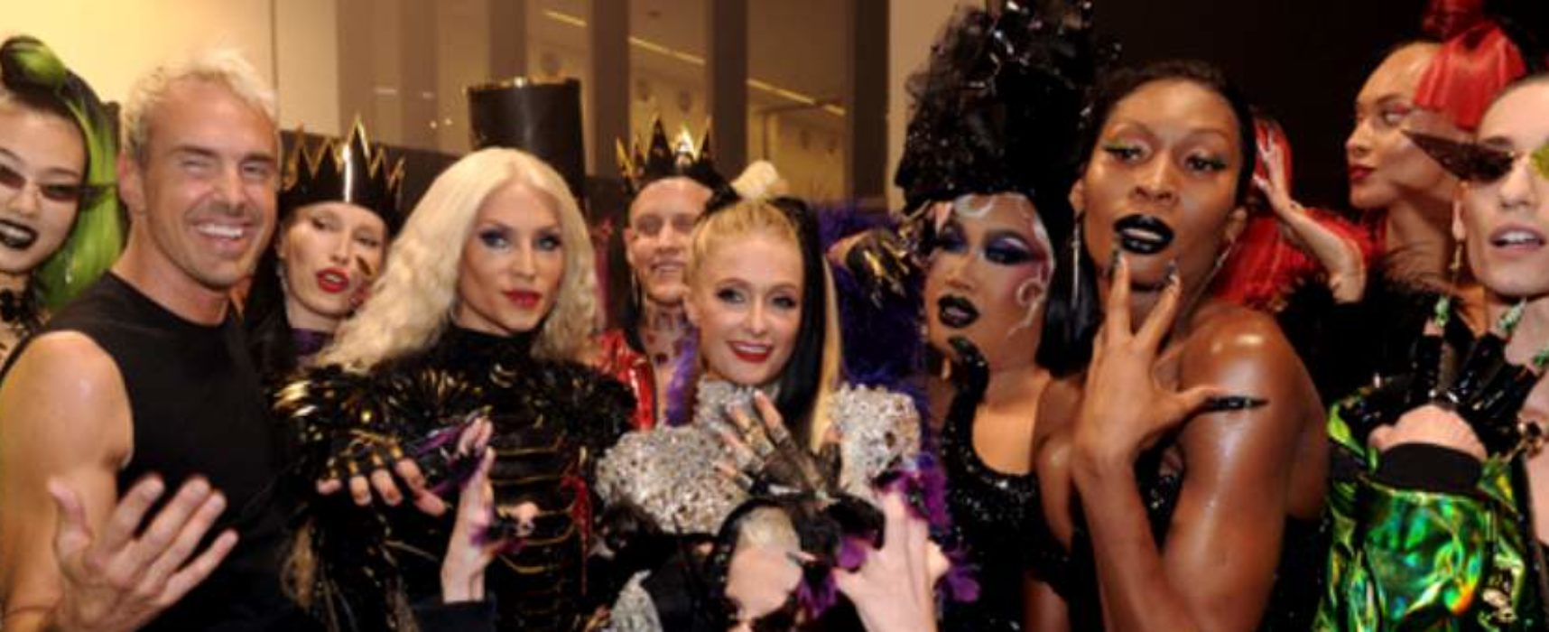 Disney Villains took to the catwalk at New York Fashion Week