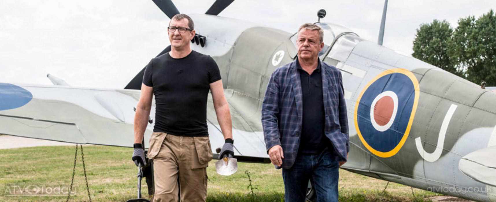 Suggs returns to the History channel for more World War treasures