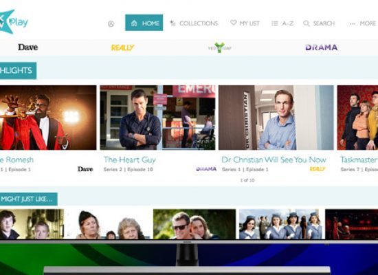 UKTV launches on demand and catch-up TV app on Samsung TVs