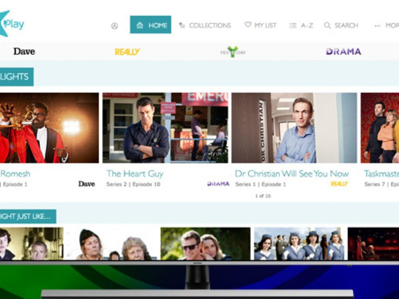Live channel streaming comes to UKTV Play