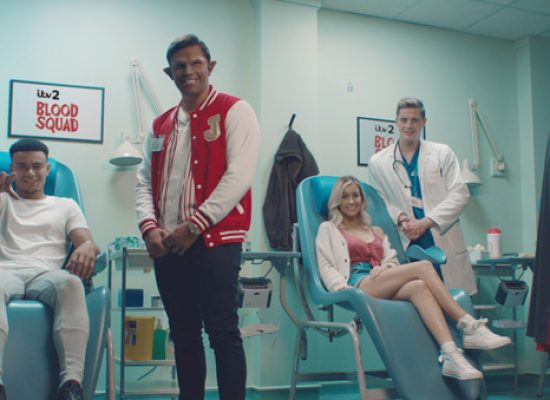 ITV2 Blood Squad campaign launched to support blood donation