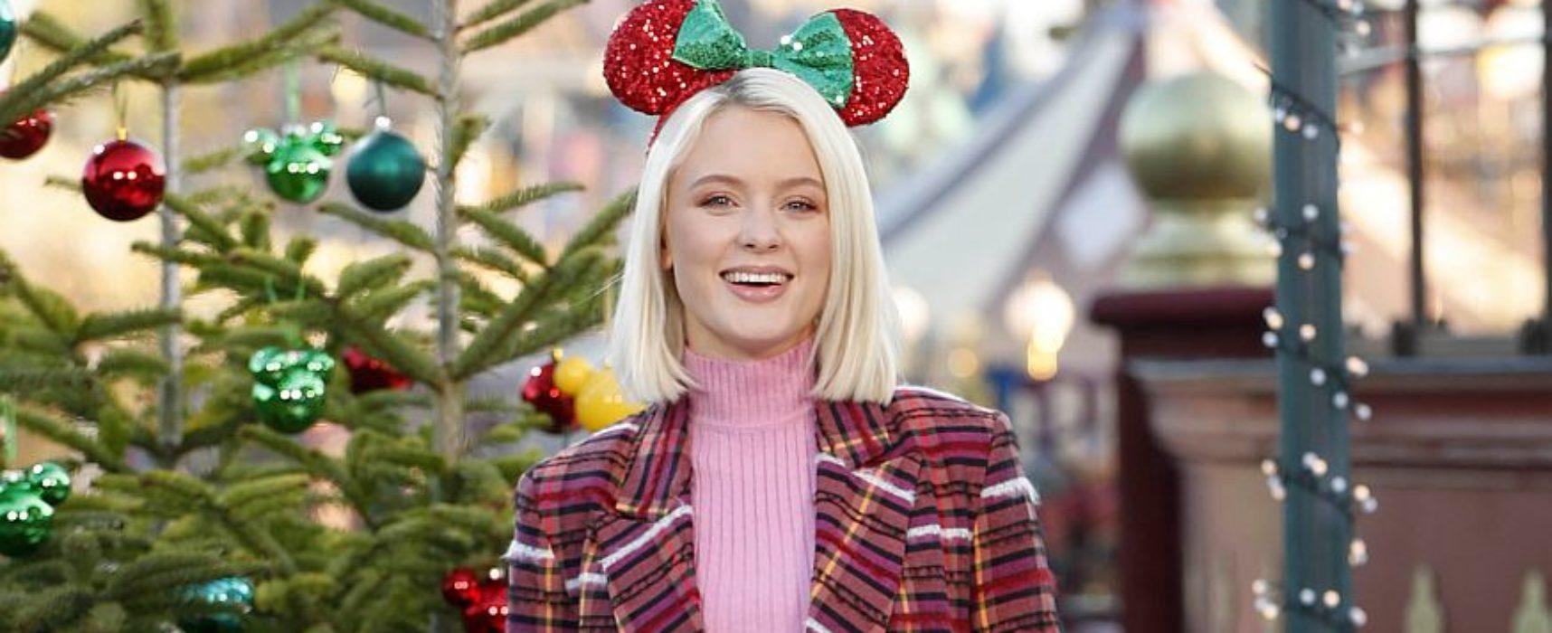 Stars enjoy festive fun at launch of Disneyland Paris' Enchanted Christmas Season