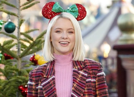 Stars enjoy festive fun at launch of Disneyland Paris' Enchanted Christmas Season