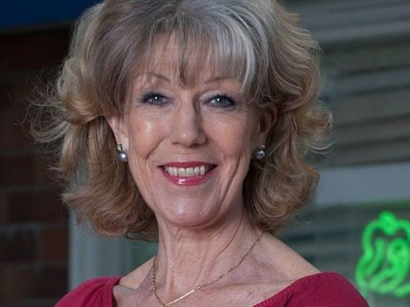ITV celebrate Corrie star Sue Nicholls
