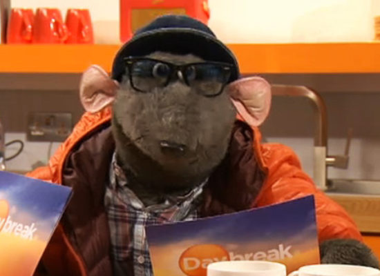 ITV celebrate 30 years of breakfast shows by bringing back Roland Rat
