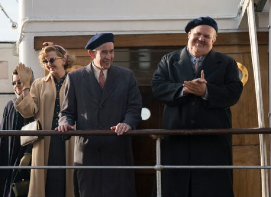 Stan & Ollie – docked in Bristol for movie magic