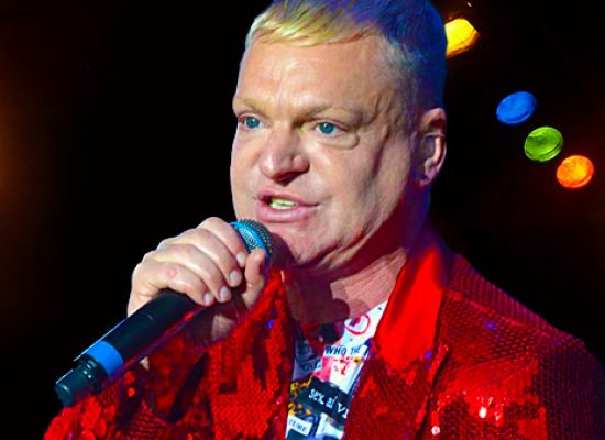 Erasure's Andy Bell takes to the stage with Queereteria TV