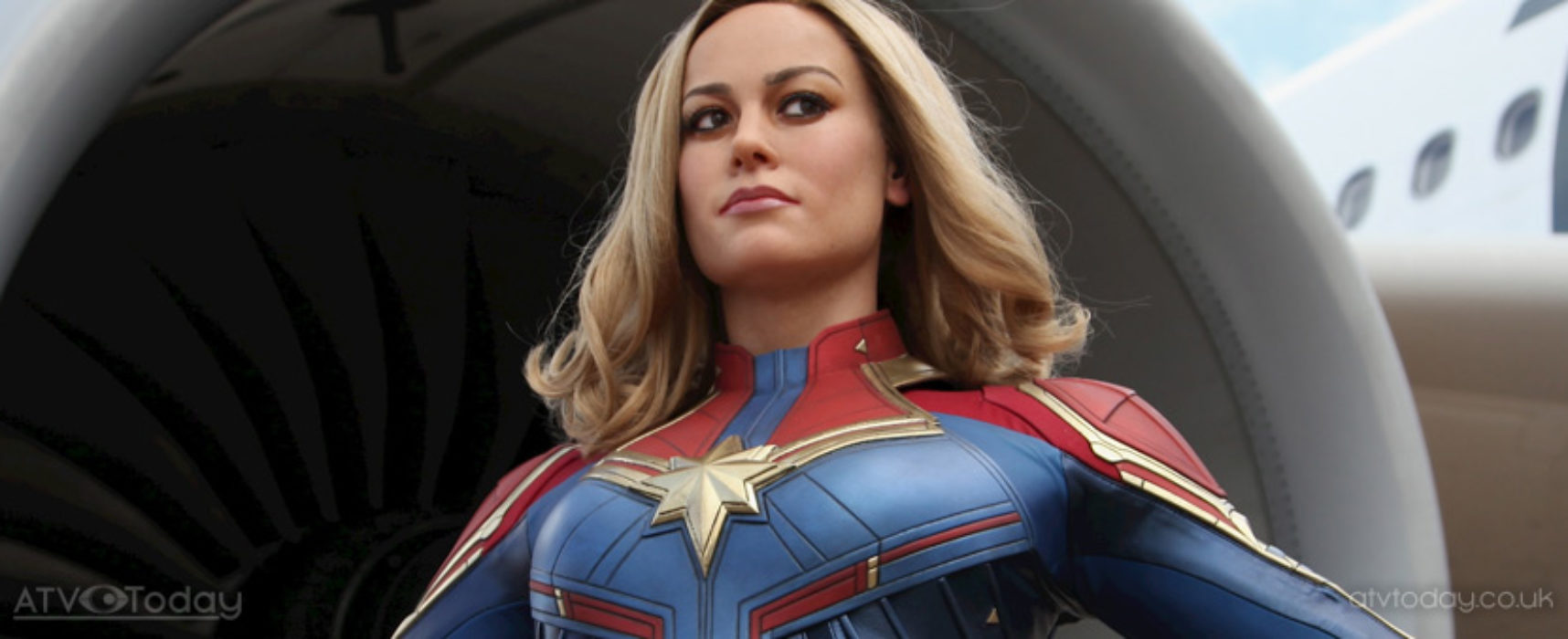 Madame Tussauds Blackpool launches new Captain Marvel wax figure